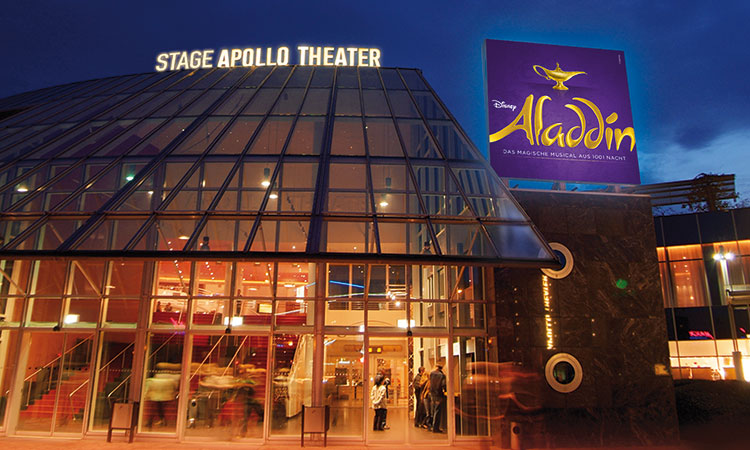 Disney ALADDIN - Stage Apollo Theatre, Stuttgart, Germany